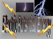 ELECTRICAL POTENTIAL ENERGY  and POTENTIAL
