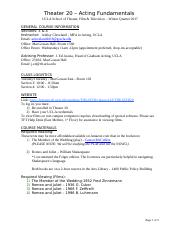 Theater 20 Syllabus - WQ17- Cleveland.doc
