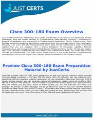 300-180 Dumps | Troubleshooting Cisco Data Center Infrastructure Exam