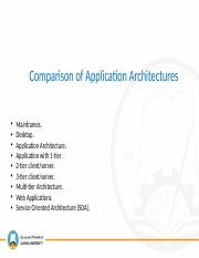06 - Comparison of Application Architectures.pptx