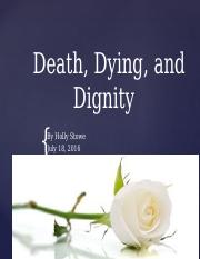 Death Dying and Dignity.pptx