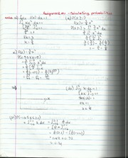 Calculating Probabilities Assignment Solutions