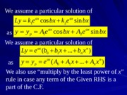 07 Method of Variation of Parameters
