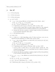 Extra Problem Solutions 27