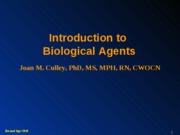 INTRO BIOLOGICAL(s)