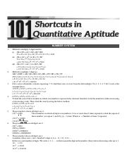 101 math short cuts