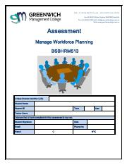 Assessment - Manage Workforce Planning BSBHRM513.pdf