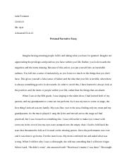 Personal Narrative Essay.docx