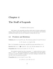 Chapter 4 - The Stuff of Legends