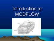 Introduction to MODFLOW