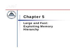 05_Chapter 5 Large and Fast Exploiting Memory Hierarchy.pdf