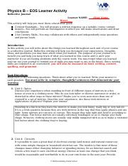 Physics B - EOS Learning Activity Reflective Journal (1).docx