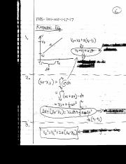 Physics notes 3, 1D motion
