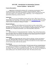 ISYS263_SP17_Syllabus.doc