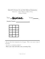 Math 307 docx - Math 307 202 Applied Linear Algebra Spring 2018