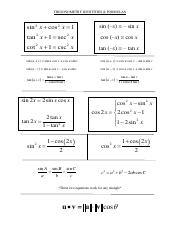 sharedHomeA-EberthiasMy Documents1 TrigHandoutsTrig IDsTRIGONOMETRY IDENTITIES.pdf