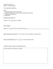 Math 43 - Section 8.2 Notes