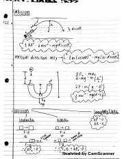 PHYS 2101 Notes: Collision, Rotational Motion, Inertia, Torque.pdf