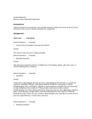 CAR010_Business_Career_Exploration_Worksheet Dermatologist.docx