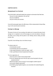 Notes Chapter 6 NOTES