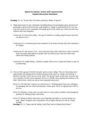 KHP 300 Coakley Chapter 10 and 12 worksheet