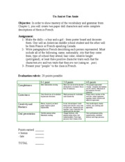Chapter1 Project rubric