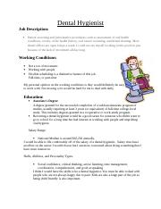 Dental Hygienist info.doc
