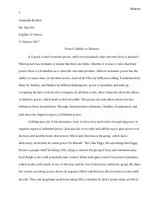 How To Write A Good Essay For High School  Pages Hamlet Rough Draftdocx Research Essay Thesis Statement Example also Easy Persuasive Essay Topics For High School Scholarship Essayhas To Be  Words Exactlydocx  Describe How  Fifth Business Essays