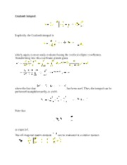 Coulomb Integral notes