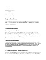 Engl 2311 Analytical Progress Report