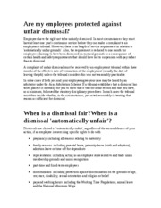 employment_Law_unfair_dismissal