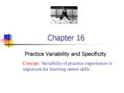 Chapter 16_Practice Variability