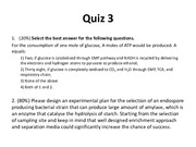 Quiz 3 for Biopharmaceutics and Fermentation Engineering
