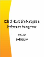 Role of HR and Line Managers in Performance.pptx