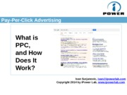 6. Pay per click advertising