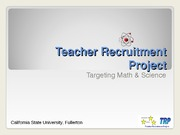Teacher_Recruitment_Project 2009