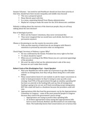 Lecture Notes - Congress and Foreign Policy