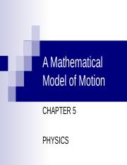 motion physics.ppt
