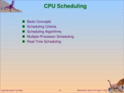 Operating System_CPU Scheduling