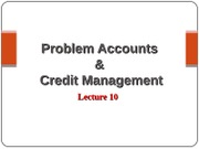 Lecture 10 Problem Accounts  & Tutorial Q  Upload Version