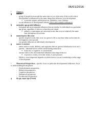 Developmental Psychology Exam 1 Study Guide.docx