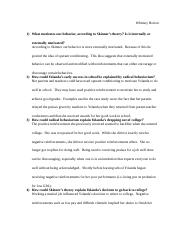 personality psychology 11 essay Essay on psychology psychology has become a very important and popular subject today it deals with many problems of everyday life psychology helps us to understand.
