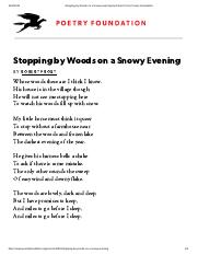 Stopping by Woods on a Snowy Evening by Robert Frost _ Poetry Foundation.pdf