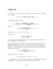 PHY2049 Chapter 36 Solutions