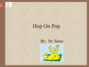 Hop-On Pop1 Cat in the hat