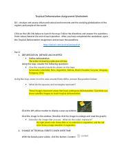 Homework help deforestation