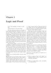 Chapter1 Logic and Proofs