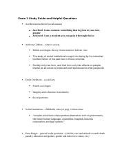 Exam 1 Study Guide and Helpful Questions.docx