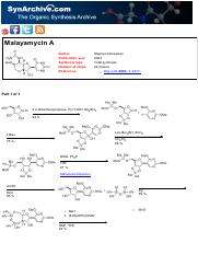 Synthesis of Malayamycin A by Stephen Hanessian (2003).pdf