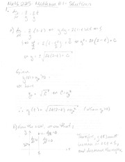 Midterm Exam 1 Solution 2012